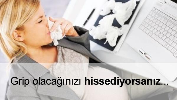 Hamilelikte Grip Olmak