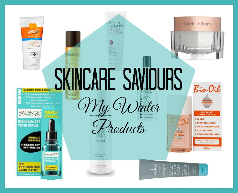 Skincare Saviours My Winter Products