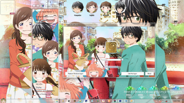 3 Gatsu no Lion Theme Win 7 by Enji Riz Lazuardi