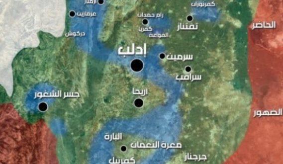 مصادر محلية إرهابيون فرنسيون دخلوا إدلب لتذخير صواريخ بمواد كيميائية