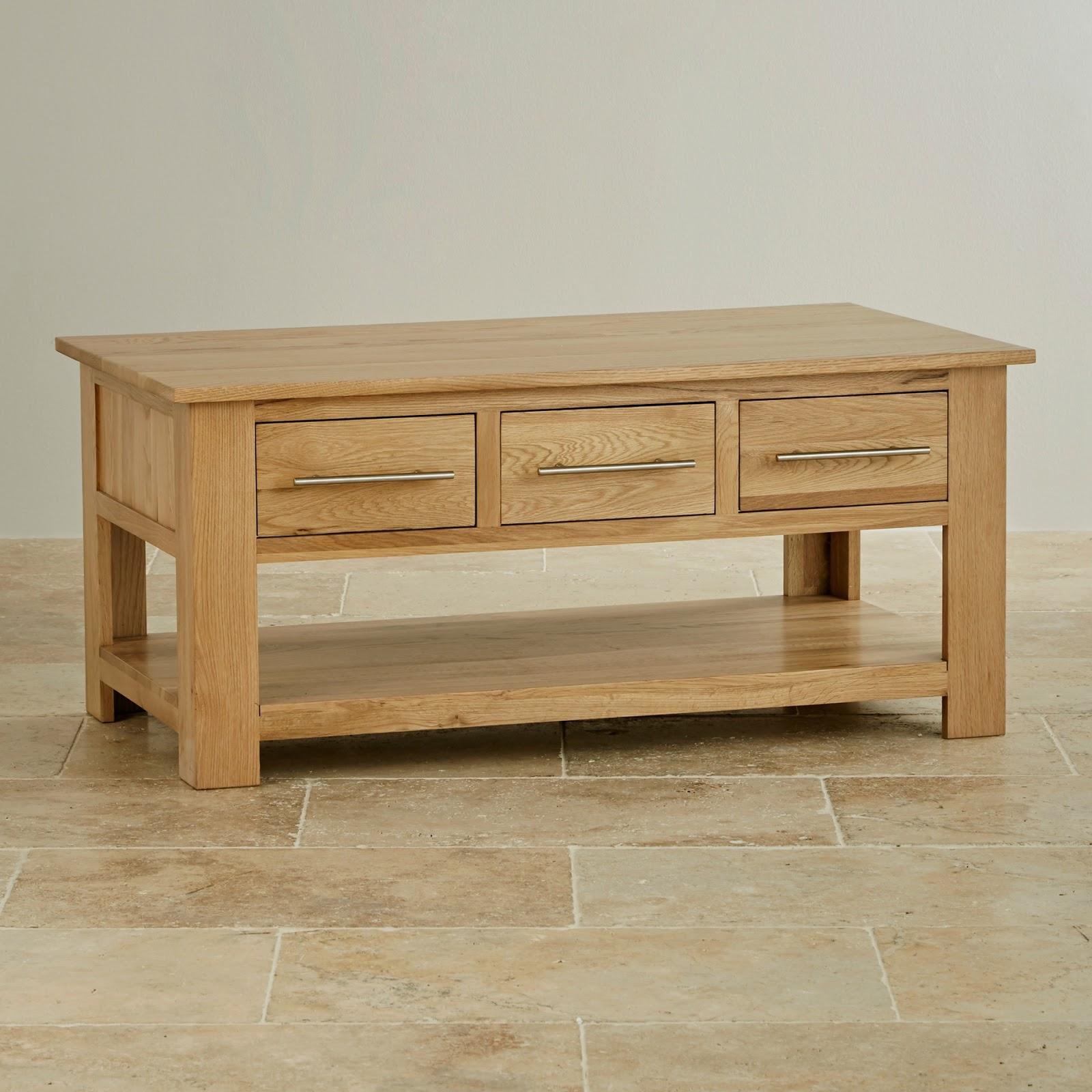 Fantastic Oak Side Table With Shelf Best Image Resource
