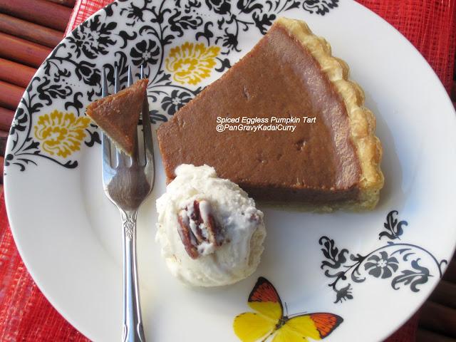 Egg Cake Recipe In Kadai: Pan Gravy Kadai Curry: Spiced Eggless Pumpkin Tart, From