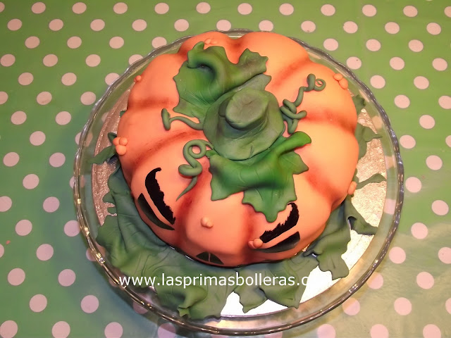 Tarta Halloween tarta calabaza