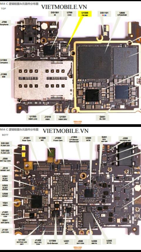 Babysheameera Belajar Service Handphone  Schematic Diagram