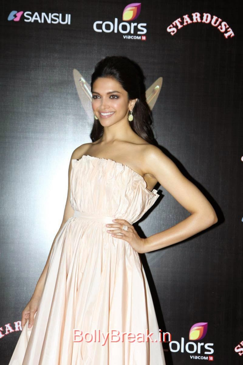 Deepika Padukone Hot Pics In Nude Strapless Dior Gown At -8183