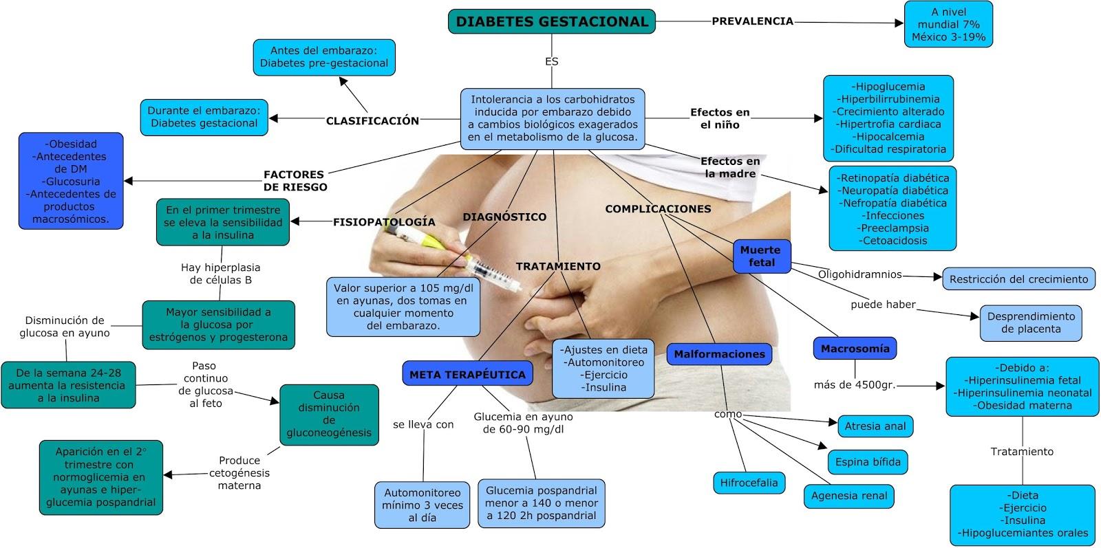 hiperinsulinemia y diabetes gestacional