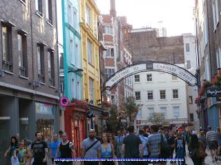 Calle comercial de Carnaby Street