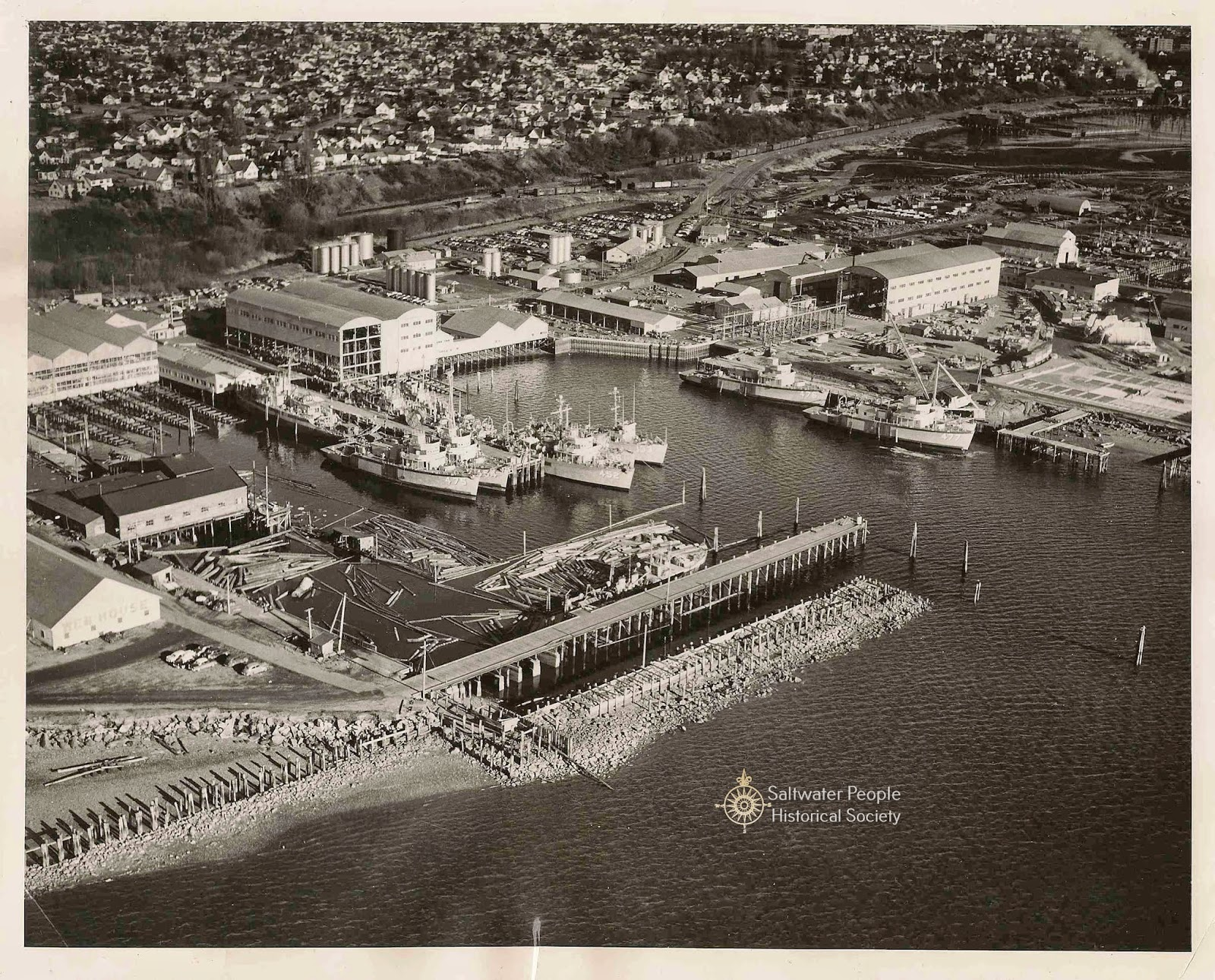 Saltwater People Log: 1950 ❖The Bellingham Shipyard