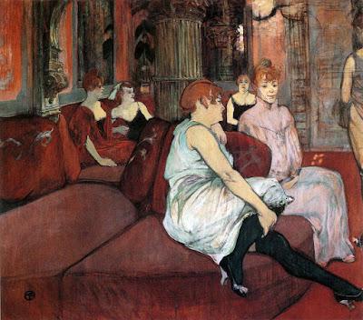 Henri de Toulouse-Lautrec, Salón de la Rue des Moulins