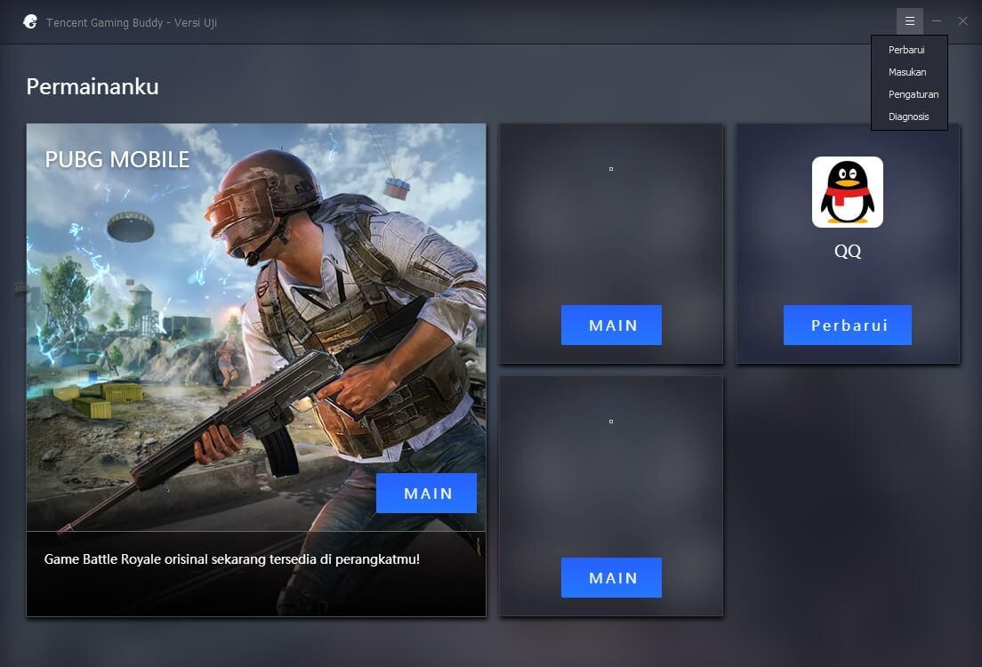 Mengganti Bahasa Emulator PUBGM