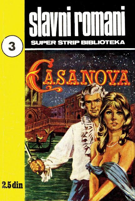 Casanova - Slavni romani - Klasik