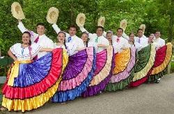 Traje típico de Costa Rica