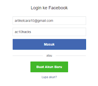 Bagaiman Cara Hack Facebook Gmail Twitter menggunakan Inspect Element