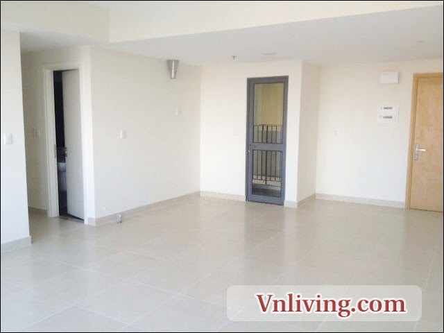 3 Bedrooms Unfurnished apartment for rent in Masteri Thao Dien