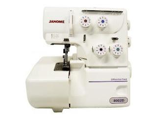 Promoção Máquina de Costura Janome Overlock