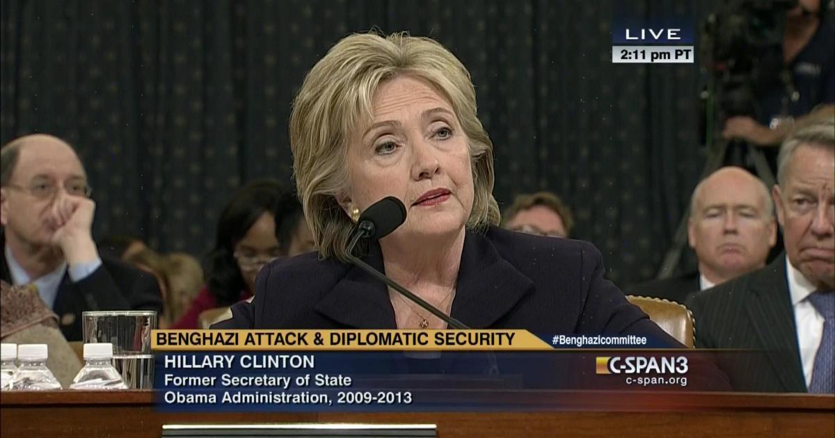 Hillary Clinton stonewalling Congress
