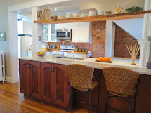Row House Refuge Recycled Kitchen