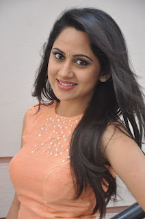 Actress Miya George Stills at United Kireeti Movies Ltd Production No 8 Movie Opening 0008.jpg