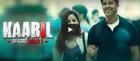 Hrithik Roshan 'Kaabil' Official Trailer release