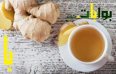 شاي الزنجبيل والماء والعسل