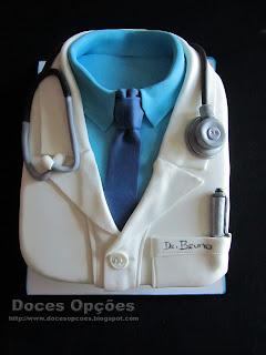 Bolo de aniversário Dr Bruno
