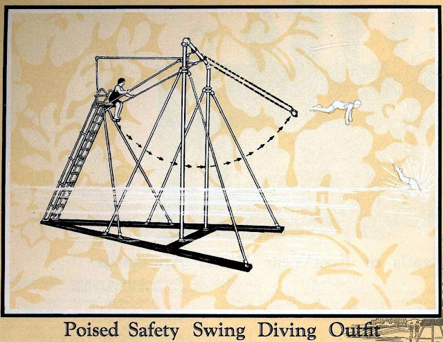 swing-diving 1930 catalog illustration