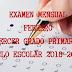 """EXAMEN MENSUAL """"FEBRERO"""" 3° PRIMARIA CICLO ESCOLAR 2018-2019."""