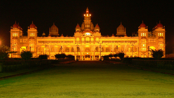 illuminated mysore palce trip to mysore