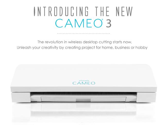 Silhouette CAMEO® 3 Mesin Pemotong Elektronik Dari Liberty Printing