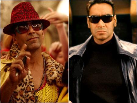 Akshay Kumar, Govinda, Ajay Devgan & Sunil Shetty / Adeel ...  |Akshay Kumar And Ajay Devgan