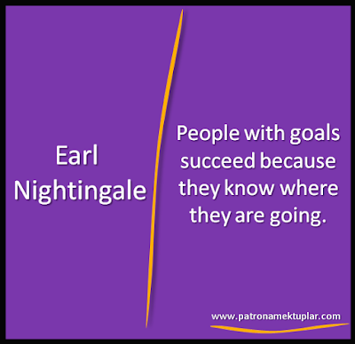 QUOTES ABOUT GOALS Earl Nightingale