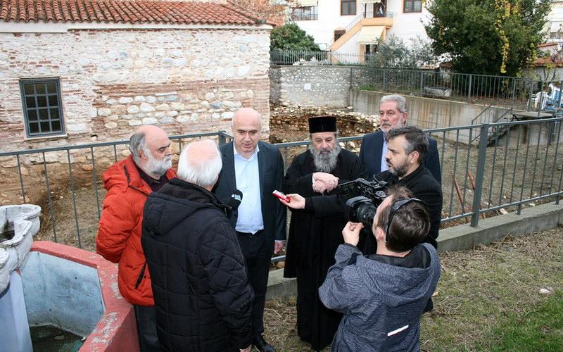 740.000 ευρώ από το ΕΣΠΑ της Περιφέρειας ΑΜ-Θ για την αποκατάσταση του ναού της Αγίας Σοφίας στη Δράμα