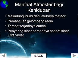 Manfaat Atmosfer Terhadap Kehidupan Di Bumi