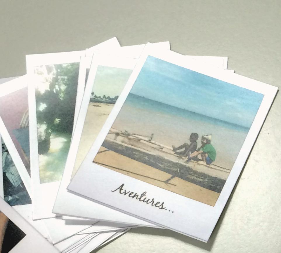 DIY: caja de fotos polaroid / DIY: polaroid box - Handbox Craft ...