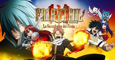 Ver Pelicula Fairy Tail: La Sacerdotisa del Fénix Online