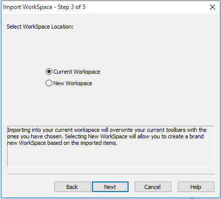 Import Workspaces