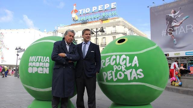 El street marketing del Mutua Madrid de tenis triunfa