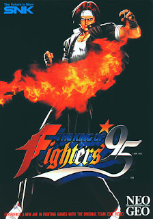 The King of Fighters 95+arcade+game+portable+retro+fighter+art+flyer