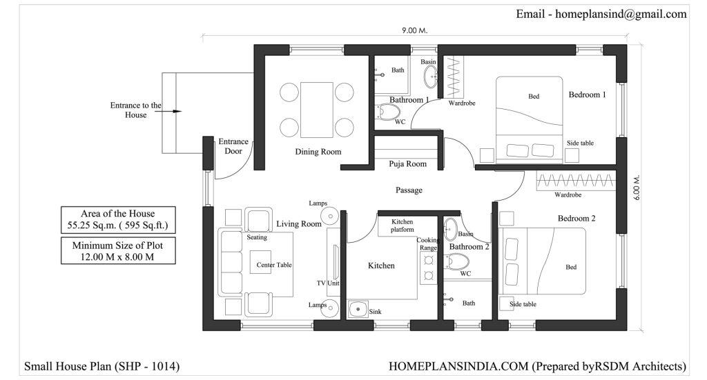 Home plans in india 4 free house floor plans for download for Indian house plans pdf
