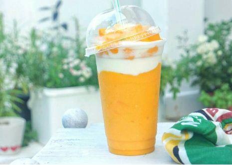 cara membuat yogurt buah mangga
