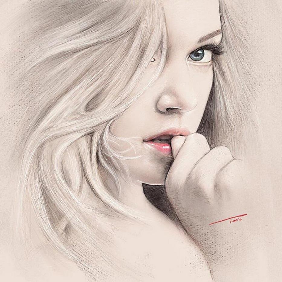 ===La mujer, un bello rostro...=== - Página 2 Dibujos-digitales-rostros-mujeres-comunes_02