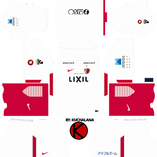 Kashima Antlers 鹿島アントラーズ 2018 - Dream League Soccer Kits