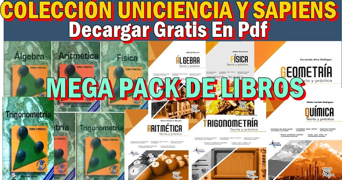 DESCARGA GRATIS LOS LIBROS DE LA COLECCIÓN UNICIENCIA Y