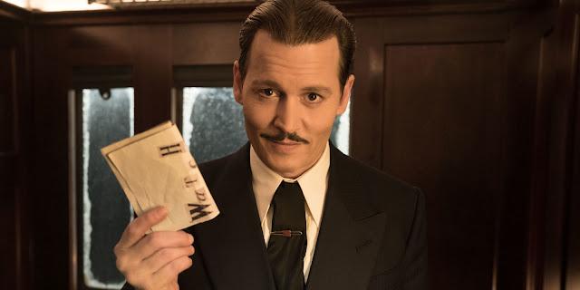 Morderstwo w Orient Expressie Johnny Depp