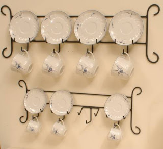 cup and saucer hangers