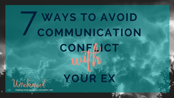 Parenting with an Ex Series: 7 ways to avoid communication conflict with your ex