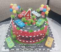 Kue Tart Ulang Tahun Mobil Cars