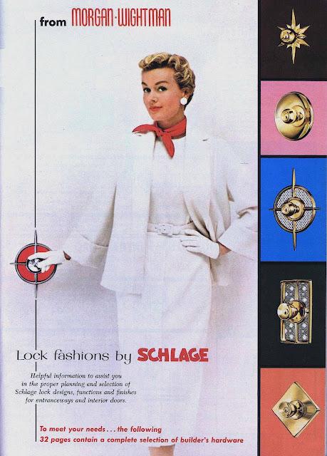 1959 Schlage doorlocks ad