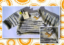 Miau Atelier Workshop Casaquinho Raglan Para Beb Em Tric 80a65e5064e