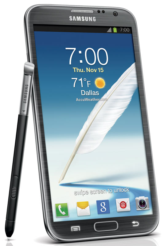 Buy Samsung Galaxy Note II 4G Android Phone, Titanium Gray (Verizon Wireless)